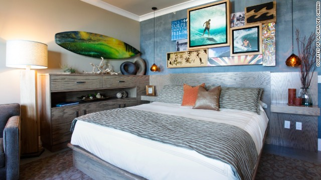 La Casa del Camino in Laguna Beach, California, opened in 1929 as a Hollywood star magnet. Today it offers sumptuous, Spanish-style rooms and surf-inspired suites.