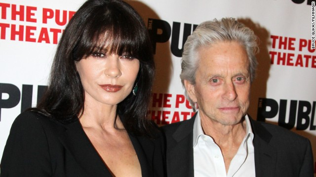 "On April 15, a seemingly reconciled Catherine Zeta-Jones and Michael Douglas went to opening night of the ""The Library,"" a play at The Public Theater in New York. It was the first time they'd been seen in public together since they announced their ""break"" in August 2013."