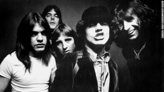 AC/DC has announced that Malcolm Young, far left, will not be returning to the group. AC/DC has been one of the hardest-rocking -- and longest-lasting -- bands on the scene. The group formed in 1973 in Sydney, Australia. Here's a look back at the rockers through the years: