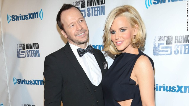 Donnie Wahlberg and Jenny McCarthy attended Howard Stern's 2014