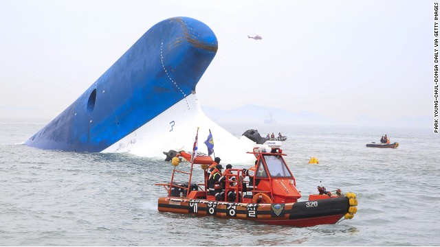 Arrestan a tres funcionarios por destruir evidencia tras el hundimiento del 'ferry'
