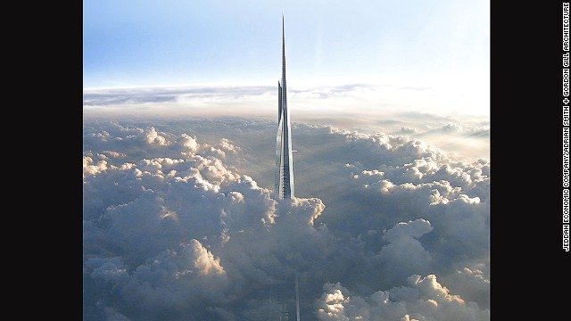 It is expected that construction of the tower will require 5.7 million square f