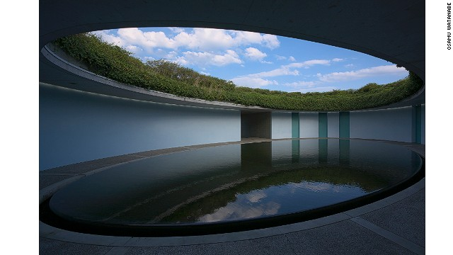 The small island of Naoshima is a startling art and architecture destination, with architect Tadao Ando serving as the creative director. Among many unusual museums and hotel buildings on the island is the Benesse House Oval (pictured), a six-room hotel accessible only to Oval guests by monorail.