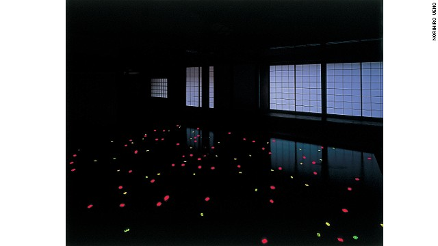 """Naoshima residents participated in artist Tatsuo Miyajima's conversion of this nearly 200-year-old house into an installation titled """"Kadoya."""" As par of the installation, digital numbers flicker in darkness in """"Sea of Time '98."""""""
