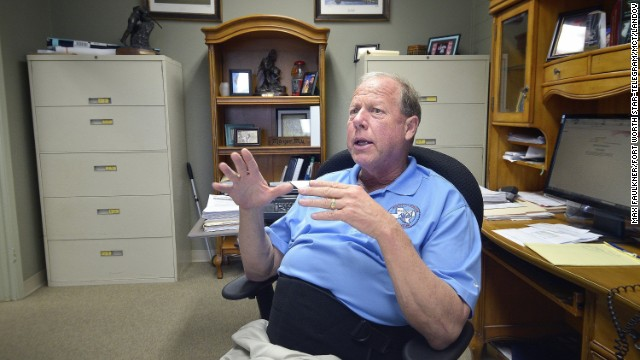 "Mayor Tommy Muska discusses the town's recovery efforts. ""We're going to have a new normal someday,"" he says."