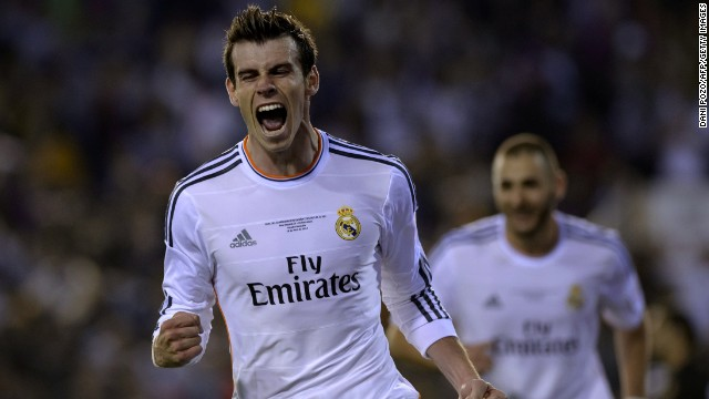 Gareth Bale's stunning solo goal saw Real Madrid defeat Barcelona 2-1 in Wednesday's Copa del Rey final. The Welshman arrived in Madrid for a world record transfer fee in September 2013.