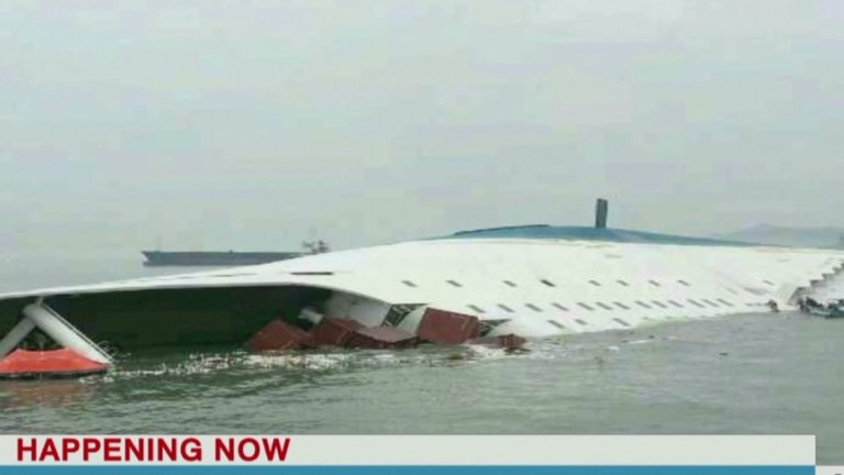 Desperate search for ferry survivors...