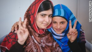 Syrian teen is called 'the Malala of Za'atari'