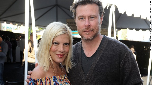 "Tori Spelling and Dean McDermott built a reality series, <a href='http://www.mylifetime.com/shows/true-tori' target='_blank'>""True Tori,""</a> around their marital problems, but things appear to be going better. In August, <a href='http://torispelling.com/2014/08/the-gourmet-dad-is-back/' target='_blank'>Spelling wrote on her website</a>, ""I'm happy and proud to say that we are doing really well, and that Dean and I are working very hard to make our relationship and our family better than ever."""