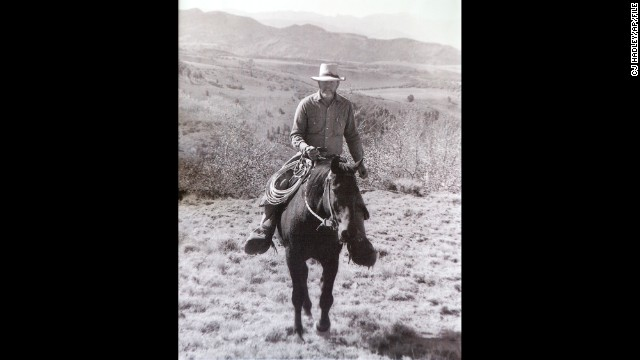 "Wayne Hage, shown in this undated photo riding his horse on Table Mountain in Nevada, was the leader of the ""Sagebrush Rebellion"" and author of the 1989 book ""Storm Over Rangelands: Private Rights in Federal Lands."" He initiated a lawsuit over water rights in 1991 against the federal government. The ruling was in his estate's favor."