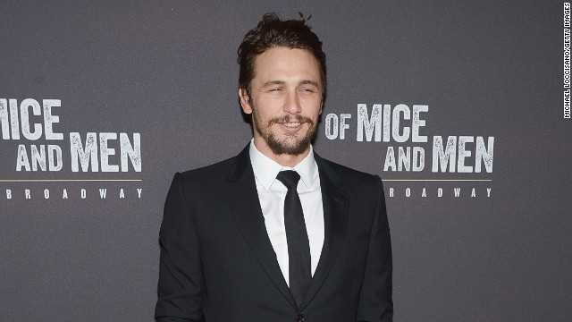 James Franco explains nearly nude photos, and more news to note