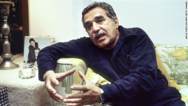 "<a href='http://www.cnn.com/2014/04/17/world/americas/gabriel-garcia-marquez-dies/index.html?hpt=hp_c2'>Gabriel Garcia Marquez,</a> the influential, Nobel Prize-winning author of ""One Hundred Years of Solitude"" and ""Love in the Time of Cholera,"" passed away on Thursday, April 17, his family and officials said. He was 87."