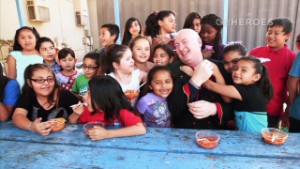 Bruno Serato's efforts to care for hungry kids