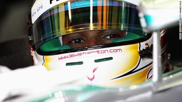 Round two: Hamilton was quick to make amends, controlling the Malaysian Grand Prix as he led from start to finish with Rosberg taking second place.