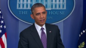 Obama: Time for political fight to end