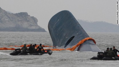 South Korean President: Actions of sunken ferry captain \'akin to murder\'