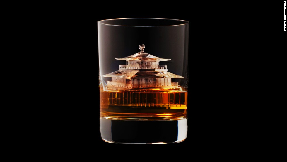 These stunningly detailed ice sculptures were made for <a href='http://edition.cnn.com/2014/03/25/travel/japan-whiskey-tour/'>Japanese whiskey</a> firm Suntory by TBWA\Hakuhodo, a Tokyo-based creative agency.