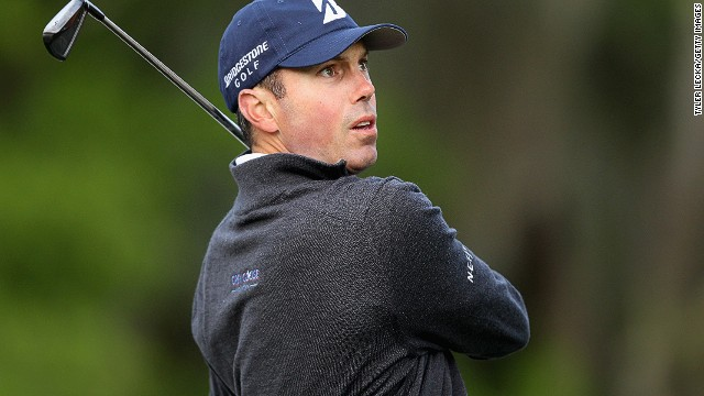 Things are looking up for Matt Kuchar after a disappointing end to his Masters challenge last Sunday.