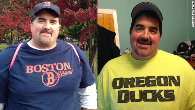 Mike Wilber has lost more than 50 pounds. But the biggest changes, he says, have happened on the inside.