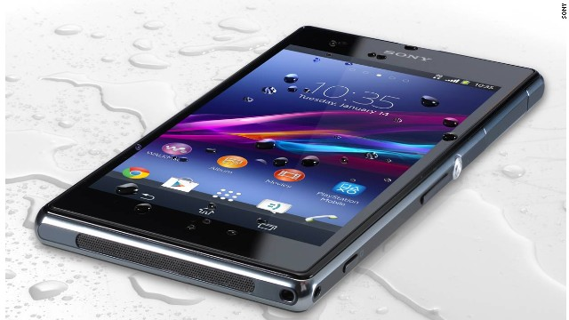 This is the second generation of the Sony phone with an unusual claim to fame: The company says it's water-resistant, for up to 30 minutes. It also boasts a 20-megapixel camera, which Sony claims has the industry's largest sensor. The Experia Z1s is exclusive to T-Mobile.
