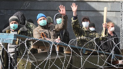 Ukraine: Protesters refuse to vacate