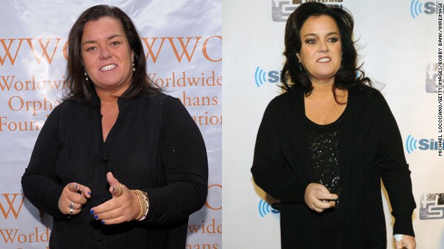 Rosie O'Donnell<a href='https://twitter.com/Rosie' target='_blank'> tweeted in April </a>that she has lost almost 50 pounds since undergoing weight-loss surgery in 2013.
