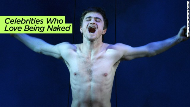 CNN is not immune from the Web's list fever. Here we celebrate <a href='http://www.cnn.com/2014/01/09/showbiz/gallery/celebrities-who-love-being-naked/'>famous people with a penchant for nudity</a>, from Daniel Radcliffe (seen here) to Lady Gaga.