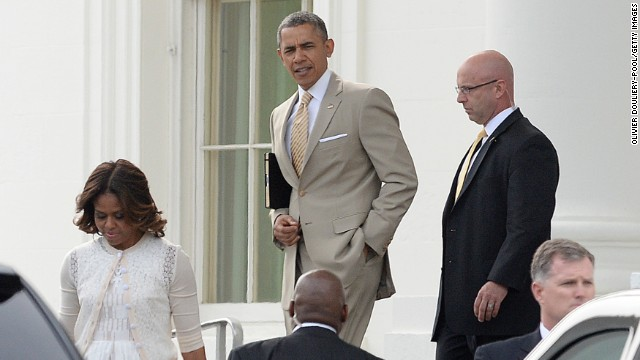 Obama attends Easter services at personally important Baptist church