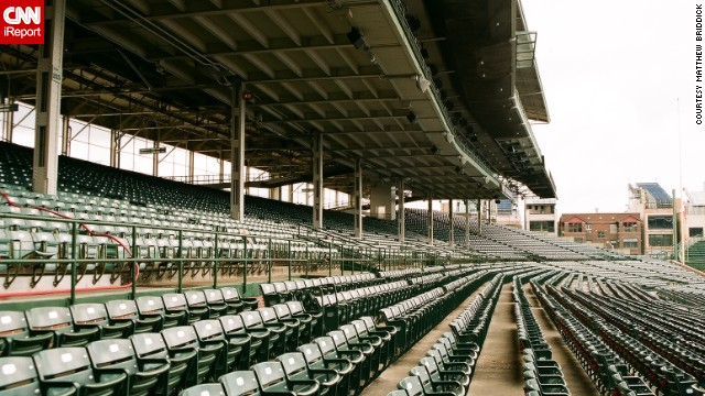 "Lifelong Cubs fan <a href='http://ireport.cnn.com/docs/DOC-1122502'>Matthew Briddick</a> says the best part of Wrigley Field ""is watching the game, eating a hotdog, peanuts and drinking lots of beer."" He says the fans love the stadium as much as the team itself."