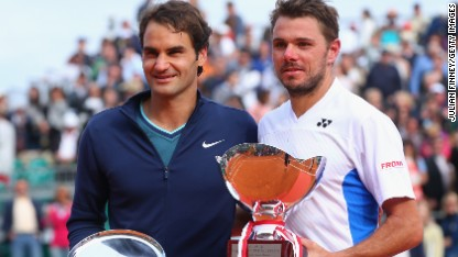 Tennis: 'Stan' stuns Federer in final