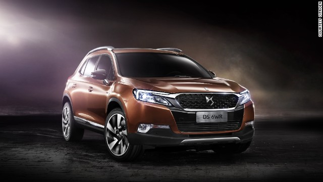 SUVs are a strong category at the Beijing Auto Show. The Citroen DS6WR is a China-only model based on the Wild Rubis concept car and measures 1.6 meters tall.