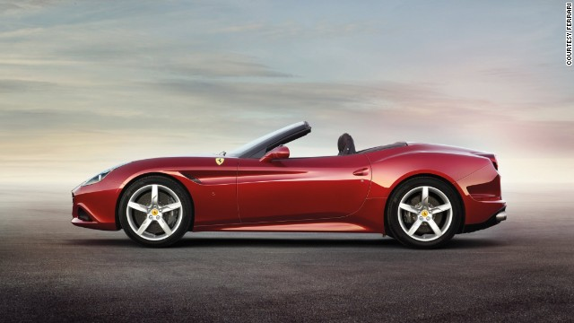 "Ferrari's California T debuted at the Beijing Auto Show with the revolutionary V8 turbo engine which promises ""the performance, torque and sound"" synonymous with Ferrari, but with fuel efficiency to boot."