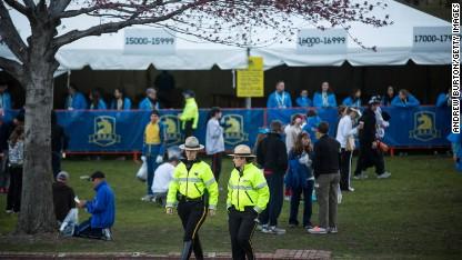 On your marks: Boston runs again