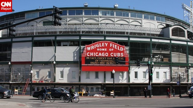 Chicago baseball park Wrigley Field celebrates its 100th birthday on April 23. <a href='http://ireport.cnn.com/topics/1105968'>CNN iReport </a>asked Chicagoans, baseball fans and travelers to share their memories and photos of the major league's second oldest ballpark behind Boston's Fenway Park.