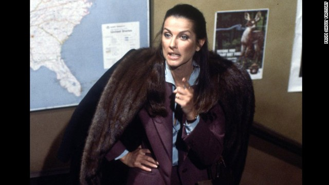 "Veronica Hamel played district attorney Joyce Davenport, Furillo's love interest (and later wife) on ""Hill Street."" Prior to ""Hill Street,"" Hamel was a model -- and in 1971, she appeared in the very last cigarette commercial ever aired on national television."