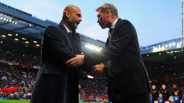 Moyes has had to congratulate more opposing managers on victory than United fans have been used to, with six league defeats at Old Trafford -- which is usually a fortress. Moyes did better in Europe, though, winning four games and drawing 1-1 with Pep Guardiola's Bayern Munich in the first leg of April's Champions League quarterfinals.
