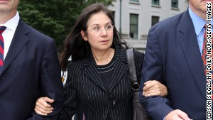 Glafira Rosales leaves Manhattan Federal Court after pleading guilty in 2013 to selling over 60 works of fake art.
