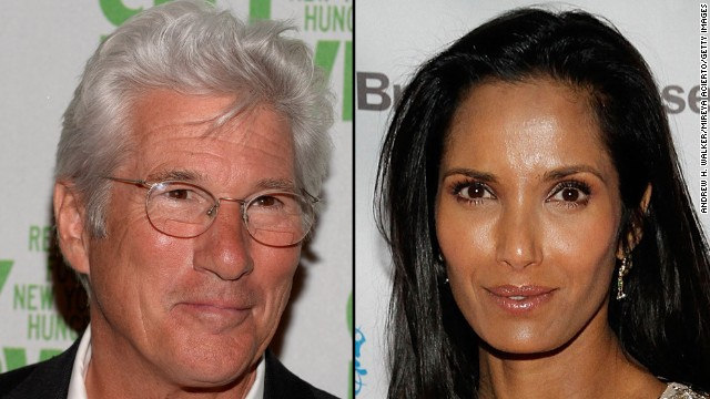 "Actor Richard Gere and ""Top Chef"" host Padma Lakshmi are an item, <a href='http://www.people.com/people/article/0,,20809053,00.html' target='_blank'>according to People magazine.</a> Gere is newly single after breaking up with wife, ""Law & Order"" star Carey Lowell, in September. Lakshmi was last linked with venture capitalist Adam Dell, with whom she has a young daughter."