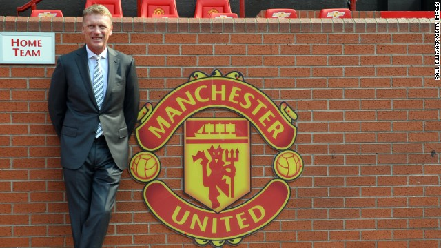 David Moyes was Sir Alex Ferguson's personal choice to succeed him as the next manager of Manchester United. The then-Everton boss signed a six-year deal on May 9 and took over the reins on July 1.