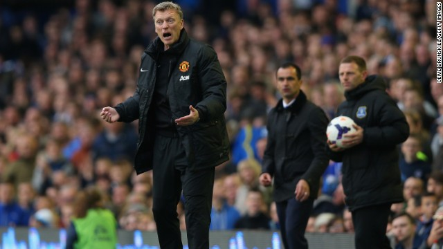 Despite reiterating that he would be given more time, Moyes' final game in charge proved to be the 2-0 loss against former club Everton on Sunday -- the Scot's first return to Goodison Park since departing last summer. United announced Moyes' sacking on Tuesday, just 10 months into his six-year contract.