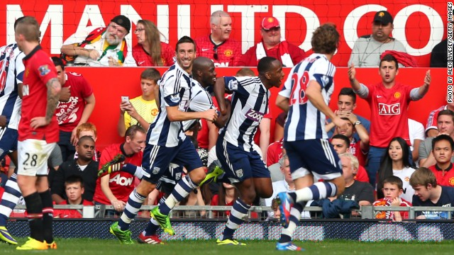 Although Moyes followed up that success with a convincing 4-1 win at Swansea in the opening game of the English Premier League season, September brought defeats by rivals Liverpool and Manchester City, while West Bromwich Albion recorded its first victory at Old Trafford for 34 years.