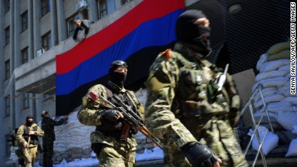 Ukraine: Pro-Russian militants to targeted