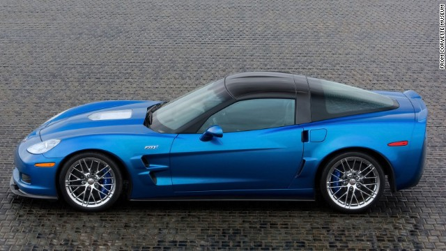 "BOSS! This 2009 ZR1 Blue Devil -- on loan from General Motors -- included body panels constructed out of lightweight carbon fiber. <a href='http://fastlane.gm.com/2014/02/19/look-back-at-two-significant-corvettes/' target='_blank'>GM says</a> it was designed to be the ""fastest production automobile that GM has ever built. Never in the history of GM has a production automobile been produced with a 638 HP and a top end speed in excess of 200 mph."""