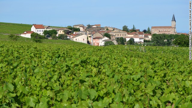 Lyon is the gateway to the Beaujolais viticultural region, which fans out immediately to the northwest.