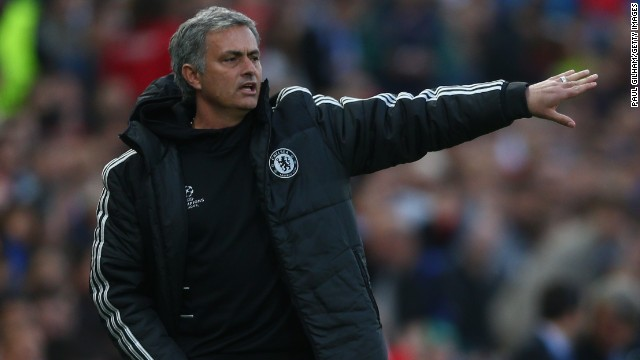 Jose Mourinho's Chelsea adopted a cautious approach during the first leg of the semi-final in the Vicente Calderon Stadium in Madrid.