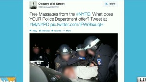 Backlash from NYPD Twitter campaign