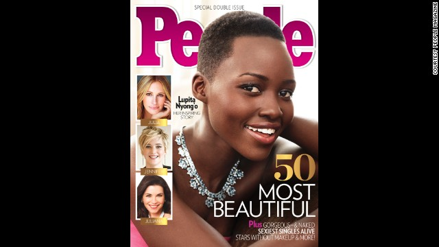 Lupita Nyong'o has seen her star rise, including a best supporting actress Oscar for her first major role. In April 2014 she <a href='http://www.people.com/people/package/article/0,,20360857_20809287,00.html' target='_blank'>was named People magazine's most beautiful person of 2014. </a>