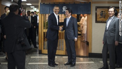 Obama begins Asia tour with reassurance to Japan