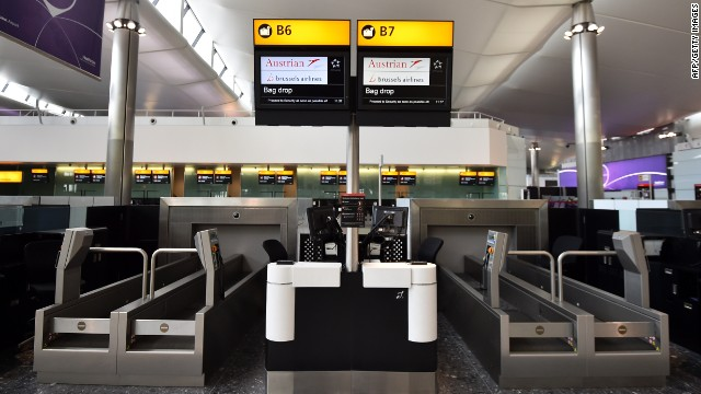 The new terminal will accommodate 26 airlines flying to more than 50 destinations.