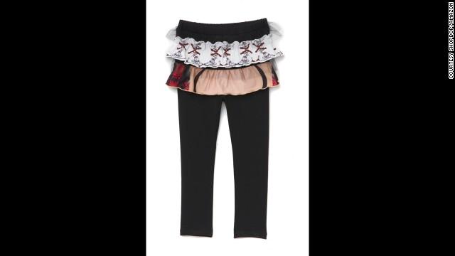 Child's skirted leggings by Vera Wang